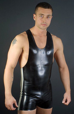 Apologise, latex bodybuidler suit